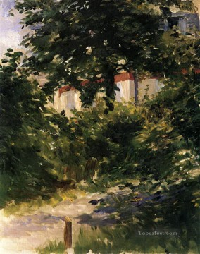 A Corner of the Garden in Rueil Eduard Manet Oil Paintings